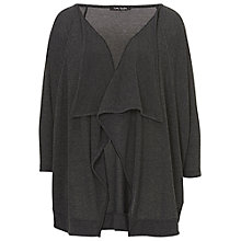 Buy Betty Barclay Elements Batwing Edge to Edge Cardigan, Anthracite Melange Online at johnlewis.com