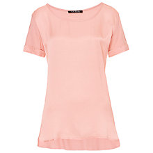 Buy Betty Barclay Short Sleeve Top, Pink Online at johnlewis.com