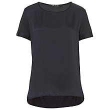 Buy Betty Barclay Short Sleeved Top, Navy Online at johnlewis.com