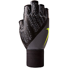 Buy Nike Dynamic Training Gloves, Grey/Black Online at johnlewis.com