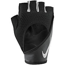 Buy Nike Women's Wrap Training Gloves, Black/White Online at johnlewis.com