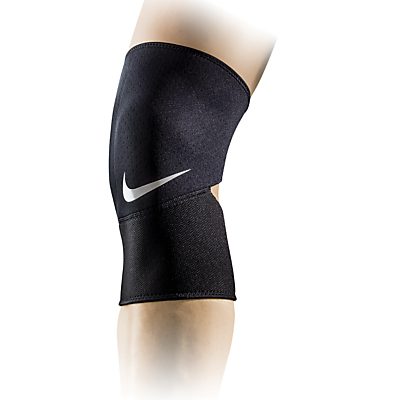 Nike Pro Combat Closed Patella Knee Sleeve 2.0, Black/White