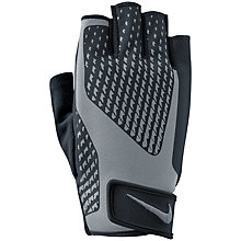 Buy Nike Core Lock Training Gloves 2.0, Black/Cool Grey Online at johnlewis.com