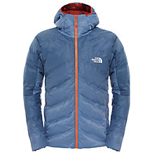 Buy The North Face FuseForm Dot Matrix Hooded Down Jacket, Conquer Blue Online at johnlewis.com
