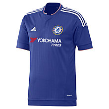 Buy Adidas Chelsea F.C. 2015/16 Home Football Shirt, Blue Online at johnlewis.com
