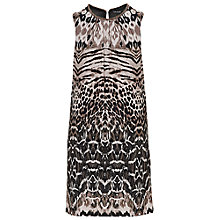 Buy Betty Barclay Animal Print Dress, Khaki/Beige Online at johnlewis.com