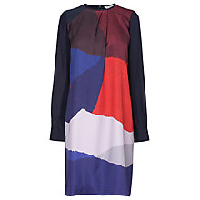 Buy L.K. Bennett Karima Silk Print Dress, Multi Online at johnlewis.com
