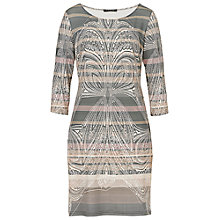 Buy Betty Barclay Printed Dress, Grey/Rose Online at johnlewis.com