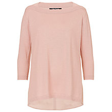 Buy Betty Barclay Oversized Top, Smoky Rose Online at johnlewis.com