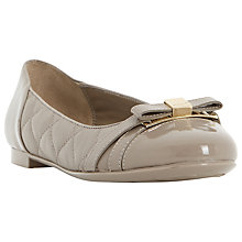 Buy Dune Herminie Quilted Leather Ballerina Pumps Online at johnlewis.com
