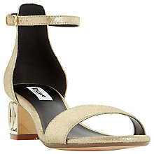 Buy Dune Marcee Block Heel Sandals Online at johnlewis.com