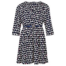 Buy John Lewis Girls' Bunny Print Dress, Blue Online at johnlewis.com