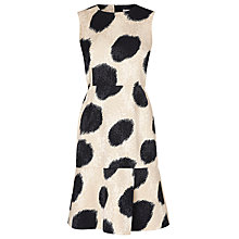 Buy L.K. Bennett Ceylan Jacquard Dress, Black Online at johnlewis.com