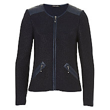 Buy Betty Barclay Zipped Cardigan, Deep Navy Online at johnlewis.com