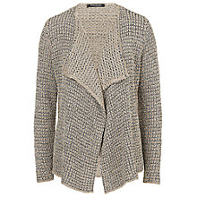 Buy Betty Barclay Ribbon Knit Cardigan, Grey / Beige Online at johnlewis.com