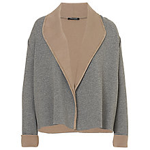 Buy Betty Barclay Knit Jacket, Grey/Beige Online at johnlewis.com