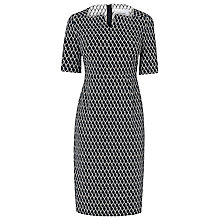 Buy L.K. Bennett Tora Slim Dress, Black / Cream Online at johnlewis.com