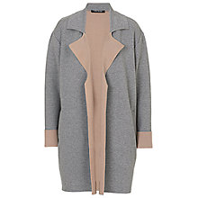 Buy Betty Barclay Cardigan Coat, Grey/Beige Online at johnlewis.com