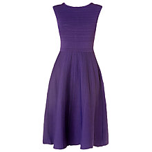 Buy L.K. Bennett Lupita Knitted Dress, Hydrangea Online at johnlewis.com