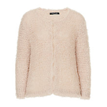 Buy Betty Barclay Fluffy Textured Cardigan, Cream Online at johnlewis.com