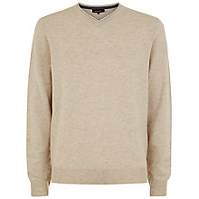 Buy Jaeger Gostwyck V-Neck Merino Jumper Online at johnlewis.com