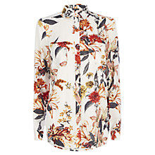 Buy Warehouse Summer Floral Shirt Online at johnlewis.com