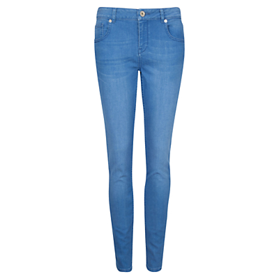 Ted Baker Korall Mid Wash Skinny Jeans, Baby Blue