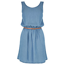 Buy Oasis Supersoft Dress, Denim Online at johnlewis.com