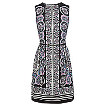 Buy Oasis Medina Skater Dress, Multi Online at johnlewis.com