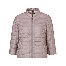 Buy Betty Barclay Stitched Casual Jacket, Moon Rock Online at johnlewis.com