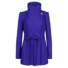 Buy Ted Baker Button Detail Coat Online at johnlewis.com