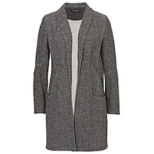 Buy Betty Barclay Melange Long Jacket, Anthracite Melange Online at johnlewis.com