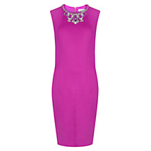 Buy Ted Baker Penni Embellished Bodycon Dress, Purple Online at johnlewis.com