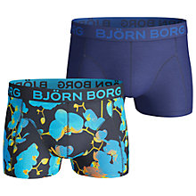 Buy Bjorn Borg Printed/Basic Trunks, Pack of 2 Online at johnlewis.com