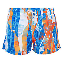 Buy Oiler & Boiler Tuckernuck Banana Print Shortie Swim Shorts, Blue Online at johnlewis.com