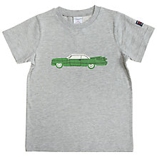 Buy Polarn O. Pyret Children's Car T-Shirt Online at johnlewis.com