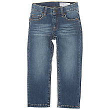 Buy Polarn O. Pyret Children's Jeans, Blue Online at johnlewis.com