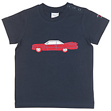 Buy Polarn O. Pyret Baby Classic Car T-Shirt Online at johnlewis.com