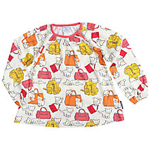 Buy Polarn O. Pyret Children's Cat Bag Top, White/Multi Online at johnlewis.com