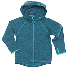Buy Polarn O. Pyret Baby Knitted Hoodie Online at johnlewis.com