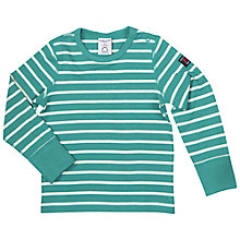 Buy Polarn O. Pyret Baby Striped Top Online at johnlewis.com