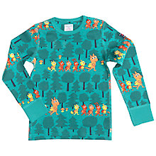 Buy Polarn O. Pyret Children's Forest Top, Green Online at johnlewis.com