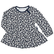 Buy Polarn O. Pyret Baby's Floral Tunic, Blue Online at johnlewis.com