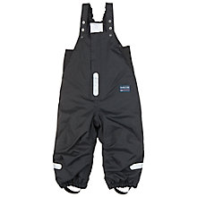 Buy Polarn O. Pyret Baby's Salopettes, Black Online at johnlewis.com