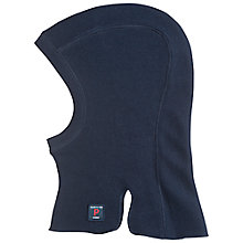 Buy Polarn O. Pyret Baby's Wool Balaclava, Blue/Navy Online at johnlewis.com