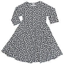 Buy Polarn O. Pyret Girls' Floral Dress, Navy Online at johnlewis.com