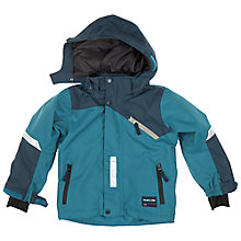 Buy Polarn O. Pyret Baby's Padded Coat, Blue Online at johnlewis.com