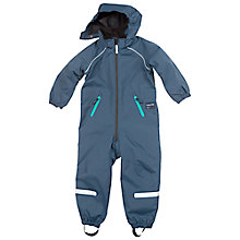 Buy Polarn O. Pyret Children's Lined Overalls, Blue Online at johnlewis.com