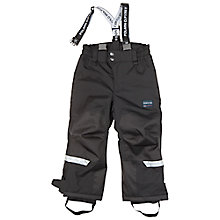 Buy Polarn O. Pyret Children's Padded Trousers, Black Online at johnlewis.com
