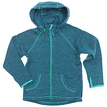 Buy Polarn O. Pyret Children's Knitted Hoodie Online at johnlewis.com